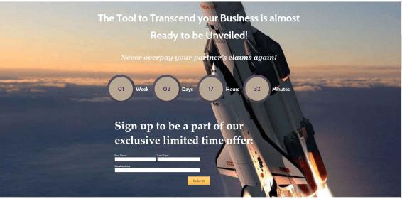 Inbound Channel Marketing- Landing Page on CMR