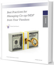 Best Practices for Managing Co-op/MDF from Your Vendors
