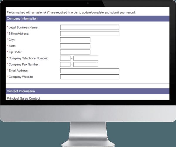 Computer Market Research Partner Signup Module