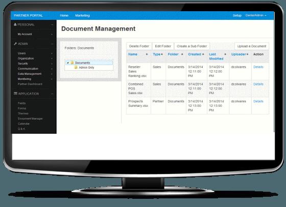Partner Portal-CMR-Document manager