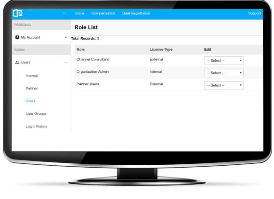 Partner Portal-CMR-Role Setting