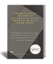 13 point channel sales checklist